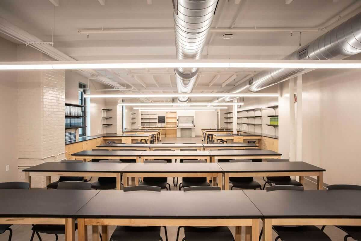 Emerson school-interior